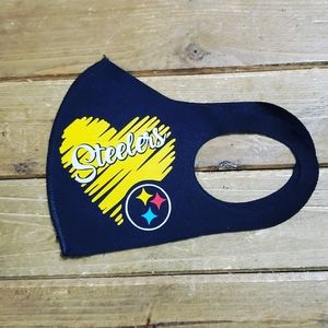 Pittsburgh Steelers NFL Face Mask Masks